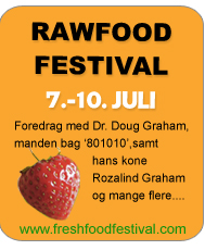Rawfood festival Lolland 7-10. juli 2011