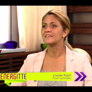 Louise Koch i Energittes Talkshow