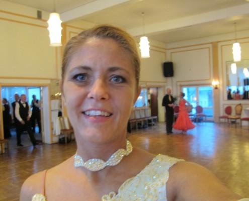 Louise danser ballroom