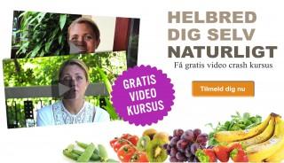 Helbred dig selv naturligt - gratis video kursus