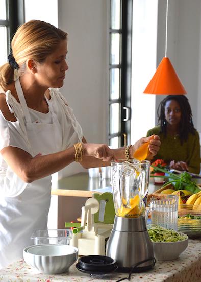 Louise Koch raw food kok