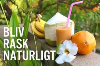 Bliv rask naturligt - eksotisk frugt