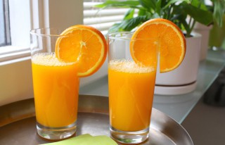 Friskpresset appelsinjuice