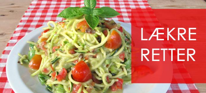 Lækre raw food retter