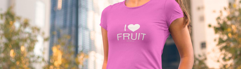 I love fruit T-shirt