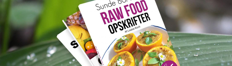 Bøger om raw food og opskrifter