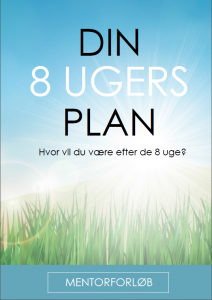Din 8 ugers plan
