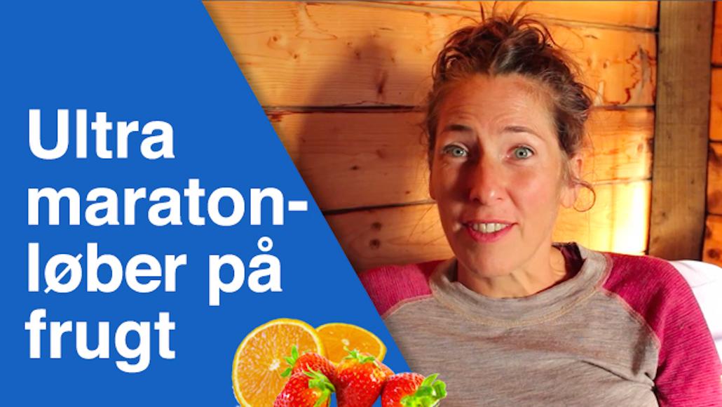 Hun løber ultra maraton på frugt