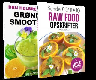 Bøger: raw food og grønne smoothies