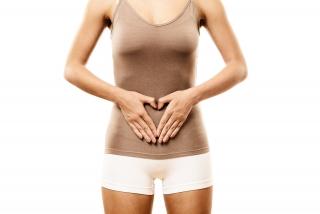 Kvinde med maveproblemer