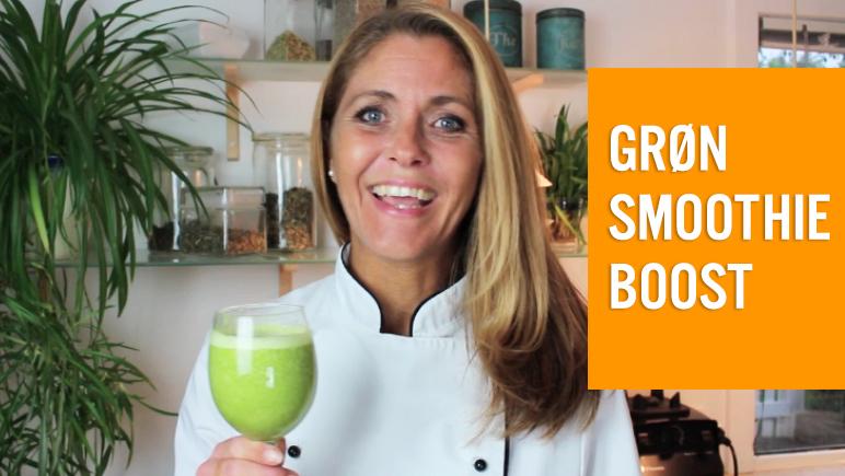 Boost dit helbred med grønne smoothies