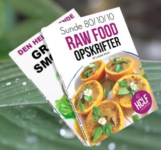 Opskrifter på raw food og grønne smoothies