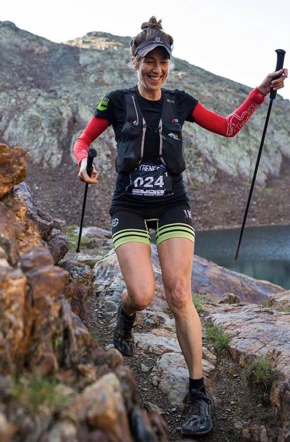 Ultra maraton bjergløb Harriet Kjæer