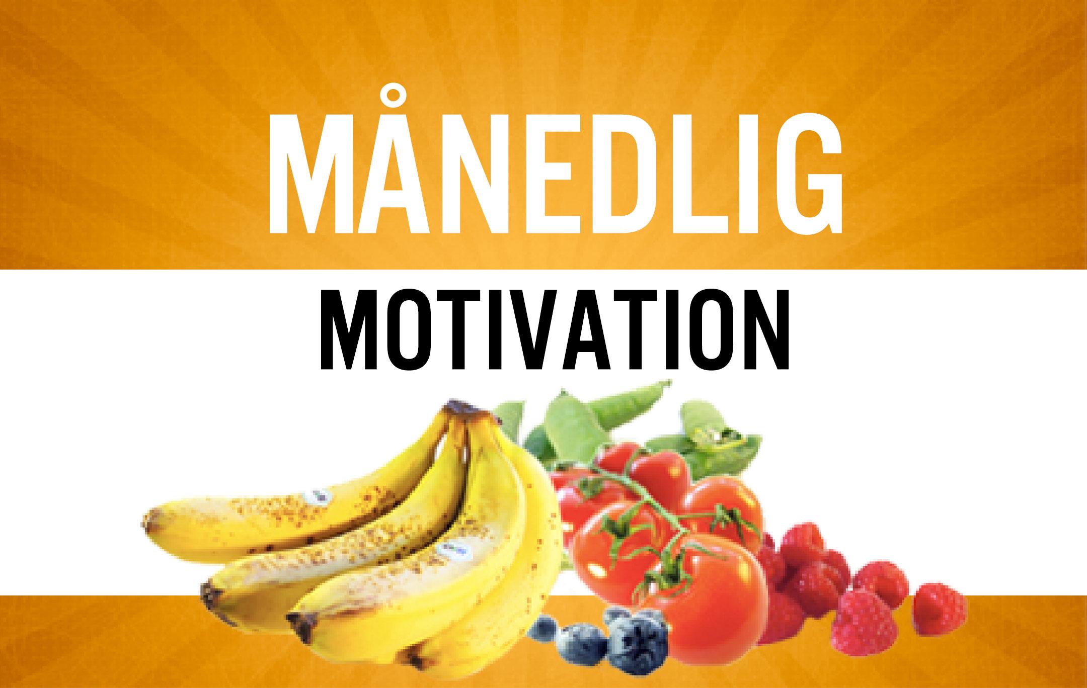 Månedlig motivation