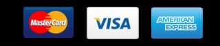 visa, mastercard, american express
