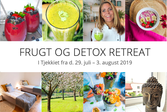 Frugt og detox retreat